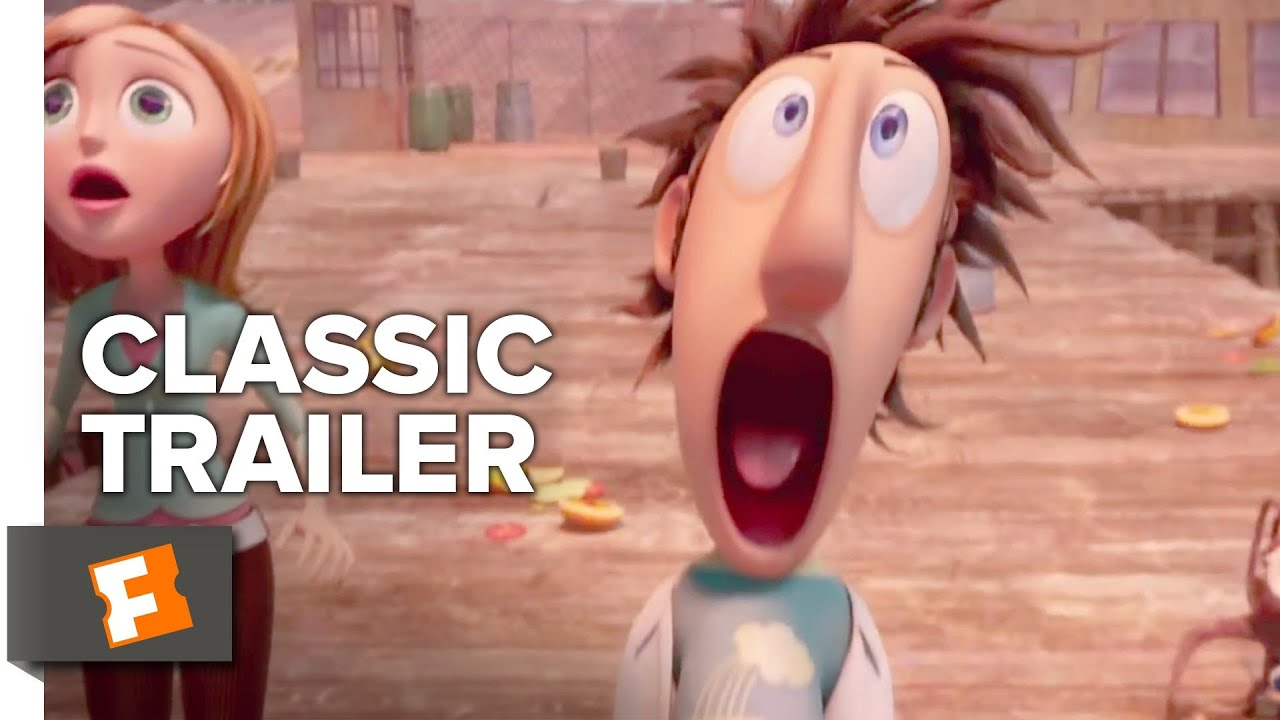 Cloudy With A Chance Of Meatballs 2009 Trailer 1 Movieclips Classic Trailers Youtube