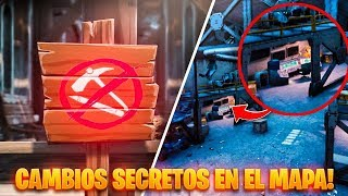 "'NEW' SECRET CHANGES IN FORTNITE MAP ""Zones anti-construction!"""