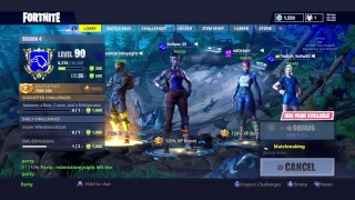 Gettin squad dubs Fortnite-595+ Wins