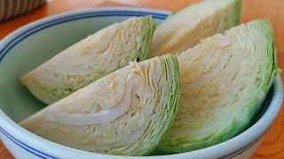 包菜不要炒著吃,教你懶人吃法,不炒不燉不涼拌,出鍋瞬間被掃光【小穎美食】
