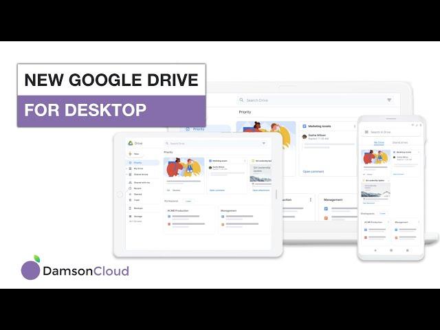 New Google Drive for Desktop - Coming Soon