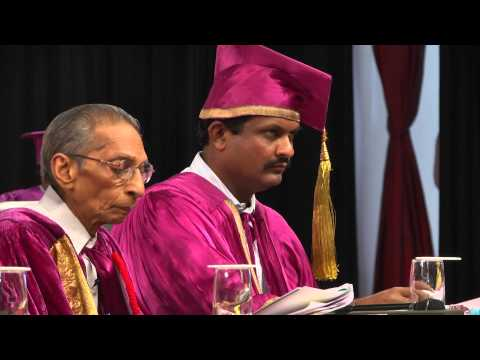 University of Hyderabad - XV Convocation