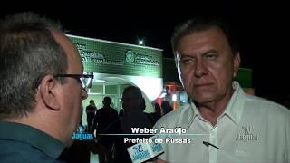 Inauguração IML Russas Wéber Araujo prefeito de Russas