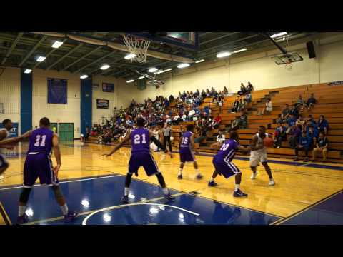 OLLU Saints Mens Basketball vs  Wiley College 02-20-15