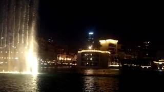 The Dubai Fountain - Burj Khalifa  - Elissa - Aa bali habibi (by Liliane A. Palma & Paulo Del Corso)