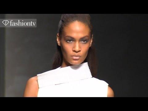 Joan Smalls - Model Talk at Fashion Week Spring/Summer 2012 | FashionTV