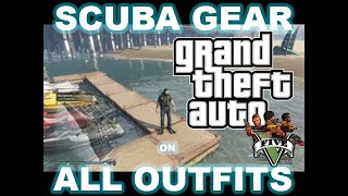 GTA 5 Online - Scuba Suit On  All Outfits