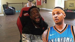 GOLDEN STATE WARRIORS ARE NOT MAKING THE FINALS! CARMELO ANTHONY TO OKC TRADE! REVENGE!