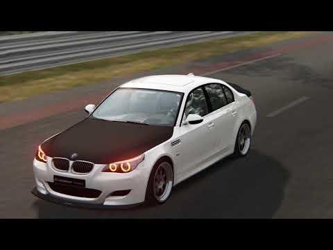 BMW M5 E60 Tuned - Circuit De La Sarthe (Assetto Corsa)