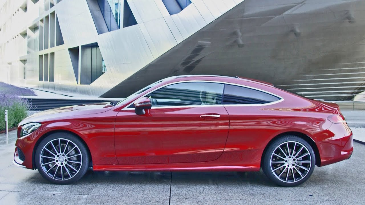 mercedes c class coupe amg line c 250 d 4matic 2016 youtube. Black Bedroom Furniture Sets. Home Design Ideas