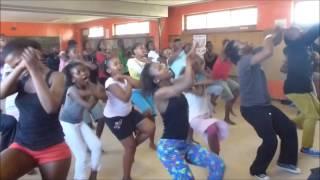 The Khayelitsha Kids African Dance Class with Bheki Ndlovu in Cape Town South Africa