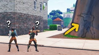 Jai troll these NOOBS with a GLITCH through the wall on Fortnite and...