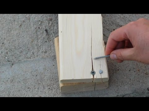 3 Amazing woodworking Tips / Tricks  to Prevent Wood from Splitting