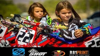 Motocross Kids Rippin On Dirt Bikes (part 3)