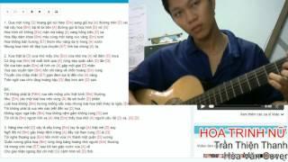 Hoa Trinh Nữ  - Trần Thiện Thanh -  Hòa Văn Guitar Cover