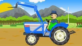 ☻ Farmer | Farm Work | Potaoes Digging | Rolnik i Maszyny Rolnicze - Bajka Pyry Bazylland ☻🤓