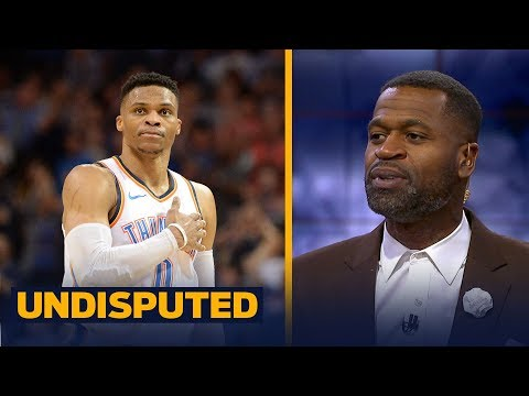 Stephen Jackson on Westbrook's 20-rebound performance to end the 2018 regular season | UNDISPUTED