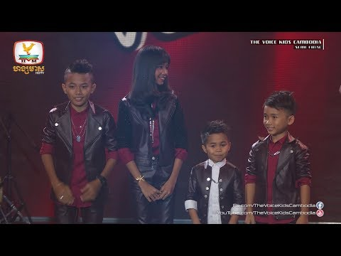 Result (Live Show Semi Final | The Voice Kids Cambodia 2017)