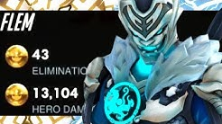 GM FLEM GENJI MAIN! 43 ELIMS! [ OVERWATCH SEASON 20 TOP 500 ]