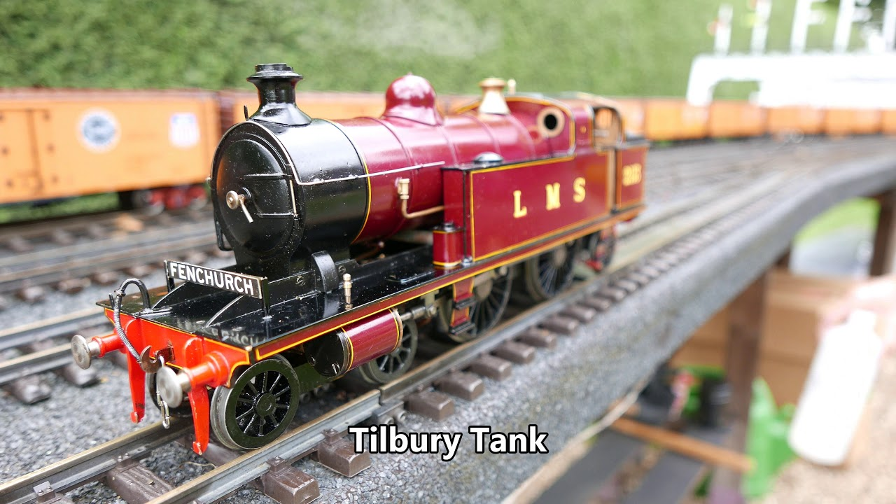 Gauge 1 Live Steam Thurnby Leicestershire 18th July 2019 - norfolk rover