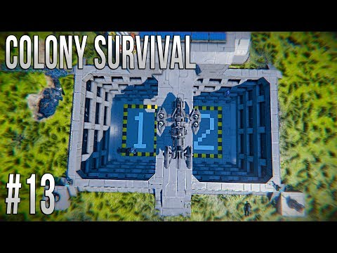 Space Engineers - Colony Survival Ep #13 - EXPANDING THE COLONY!