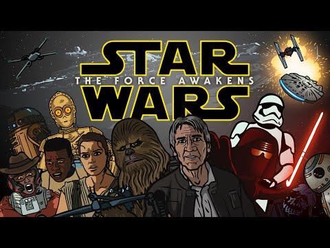 Star Wars The Force Awakens Trailer Spoof - TOON SANDWICH