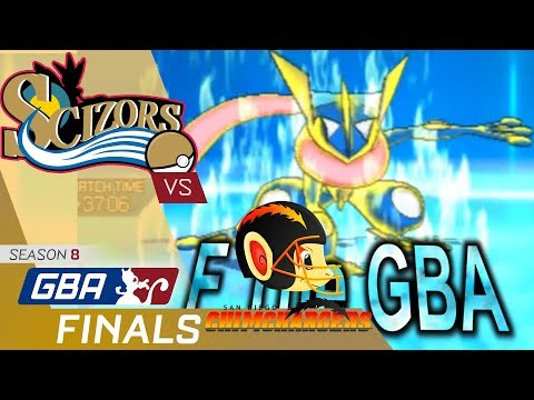 """GBA S8 FINALS Philadelphia Scizors vs San Diego Chimchargers """"F THE GBA"""""""