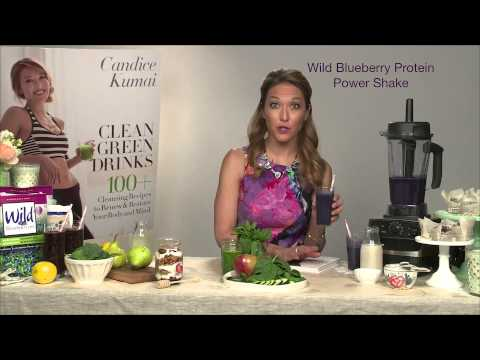 Candice Kumai & Clean Green Drinks - YouTube