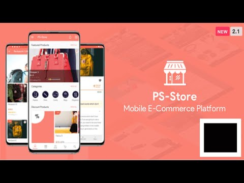 PS Store V2.3 - An E-Commerce Android Mobile Application With Admin Panel