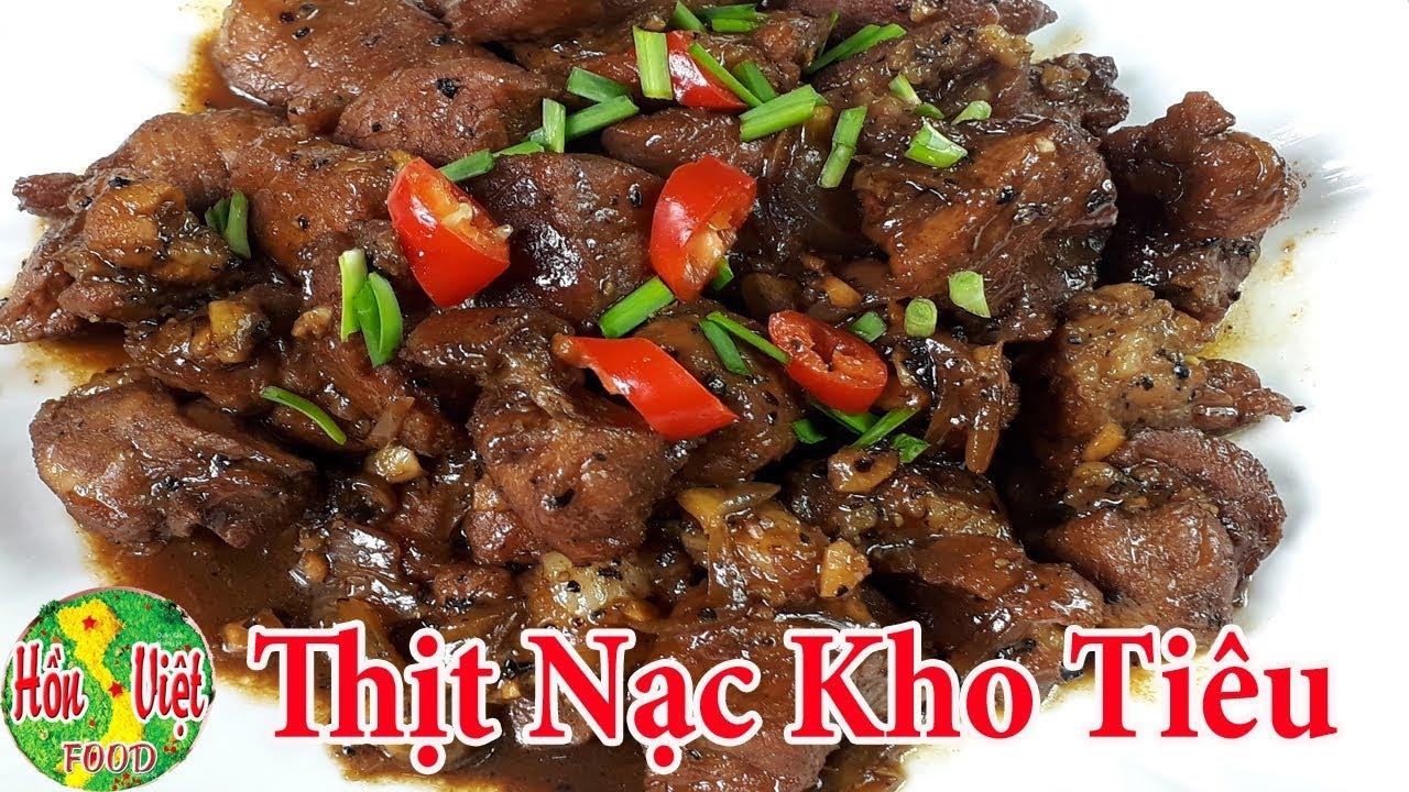 ✅ Thịt Nạc Kho Tiêu Đơn Giản Lại Ngon | Hồn Việt Food