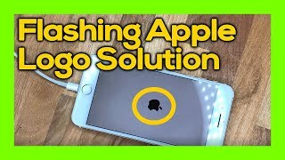 apple iPhone logo flashing on and off - solution