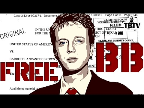 Journalist/Hactivist Barrett Brown Placed  In Custody Ahead of PBS Interview