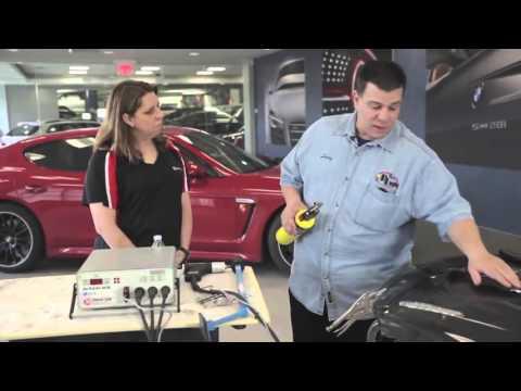Системы кузовного  ремонта алюминиевых  деталей. (2 фильма)