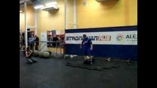 Открытие центра подготовки спортсменов Strong man
