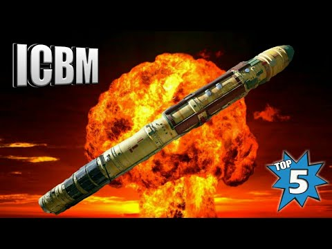 Top 5 Intercontinental Ballistic Missiles - Top 5 ICBM In The World 2018 (Hindi)