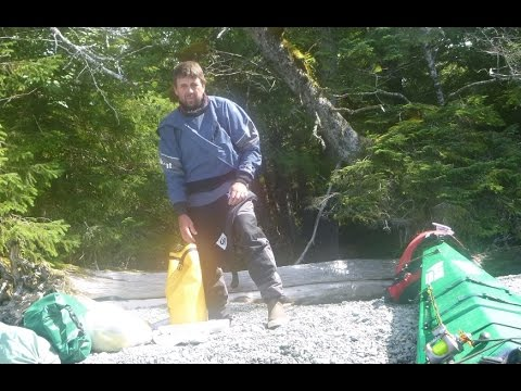 3-week Solo Logistics of Kayak Camping and Fishing in Alaska during 2013 expedition