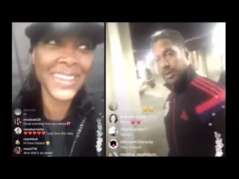 Kenya Moore Husband Marc Daly on Her Livestream | Real Housewives of Atlanta Season 10