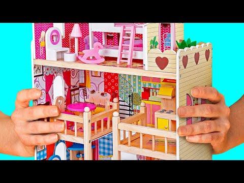 Кукольные домики своими руками смотреть