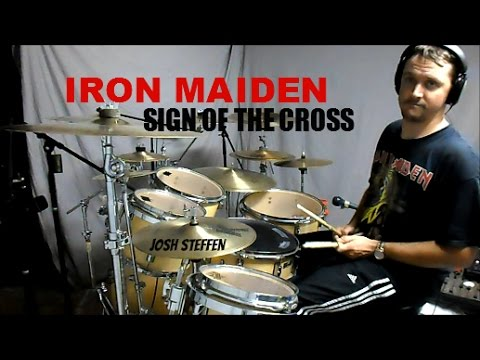 Iron maiden sign of the cross