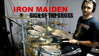 IRON MAIDEN - Sign of the Cross (Rock in Rio) Drum Cover