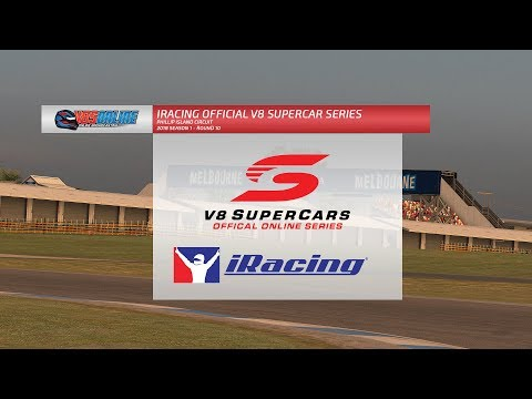 iRacing Official V8 Supercar Series - Round 10, Phillip Island
