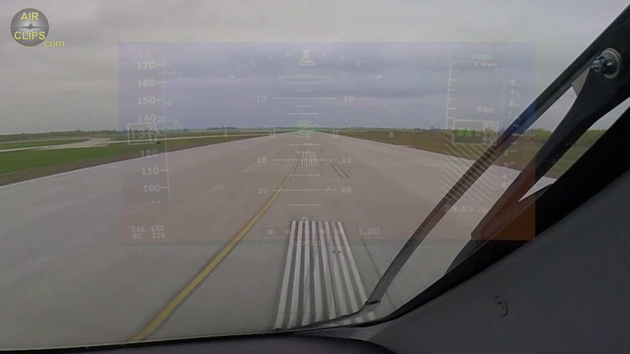 HUD-STYLE! Amazing A220-300 Takeoff from Montreal Mirabel for Delivery Flight! [AirClips]