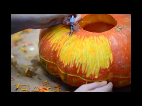 Artful pumpkin creations at the Kansas City Art Institute