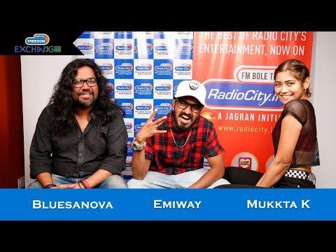 Emiway, Bluesanova and Mukkta K | Ep 1 | Radio City Freedom Exchange