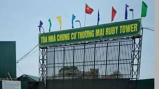 Chống thấm trường sơn công trình chung cư Ruby Tower