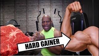 HARD GAINER MUSCLE FOODS!      [bodybuilding diet]