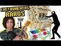 LOS 5 INSTRUMENTOS MUSICALES MÁS RAROS - Con Antonio (Caminos Cruzados, QuéParió)