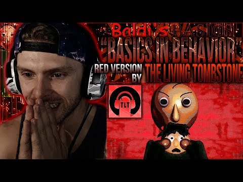 "Vapor Reacts #712 | BALDI'S BASICS SONG ""Basics In Behavior [RED]"" by The Living Tombstone REACTION!"