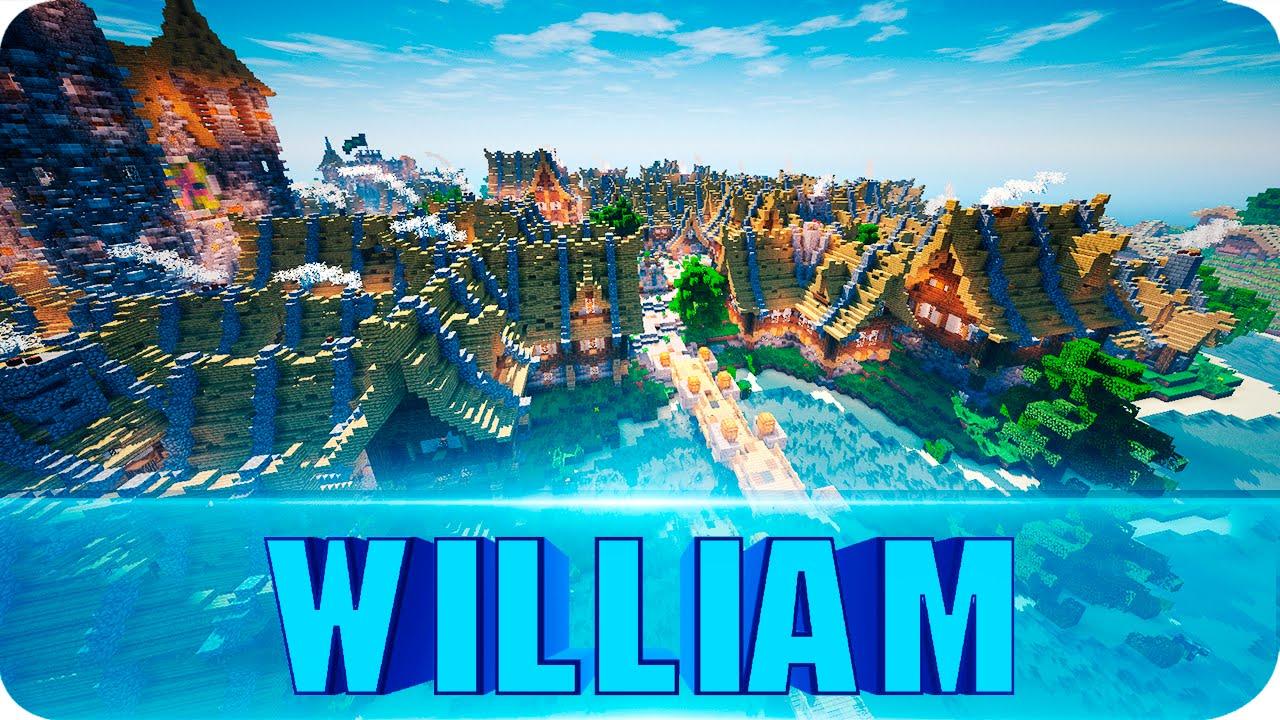 Minecraft st william on sea cinematics medieval city map w