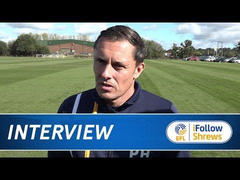 iNTERVIEW | Paul Hurst pre Walsall - Town TV